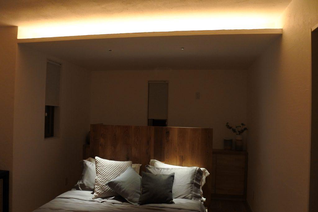 寝室 間接照明