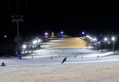 2018年 スキー場LED化 白馬五竜 (第2期工事)