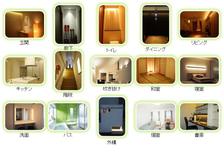 住宅照明の拘りの場所を考える